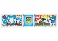 DDR MiNr. 3248/49 ** Zdr. Pfingsttreffen d. FDJ -Weltfestspiele