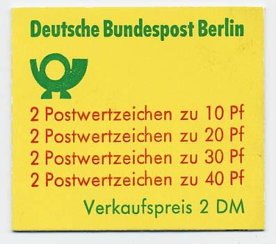 Berlin MH 9dII ** Unfallverhütung 1974 weiter Durchstich