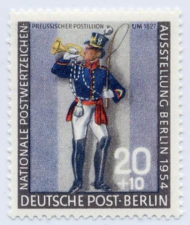 Berlin MiNr. 120 b ** gepr. Postillion I