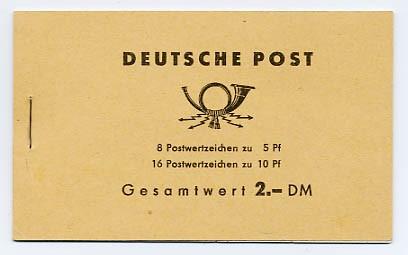 DDR MH 4a2 ** Freimarken: Ulbricht