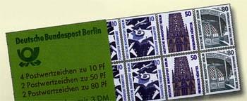 Berlin MH 14 ** Sehenswürdigkeiten, 1989