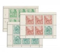 DDR Fünfjahrplan (Wz.3) MiNr. Bl.7-9B **