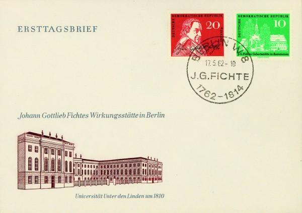 DDR FDC MiNr. 889/90 Fichte