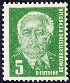 DDR MiNr. 0322b XI ** (5Pf)