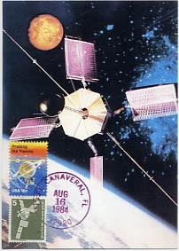 Deutsch-amerikanischer Satellit AMPTE