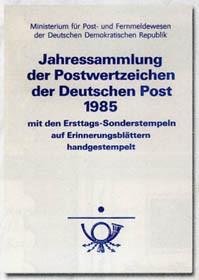 DDR Jahressammlung 1985 o