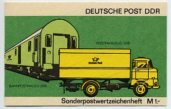 DDR SMHD 9 ** Posttransportmittel