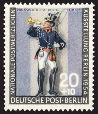 Berlin MiNr. 120 a ** Postillion I