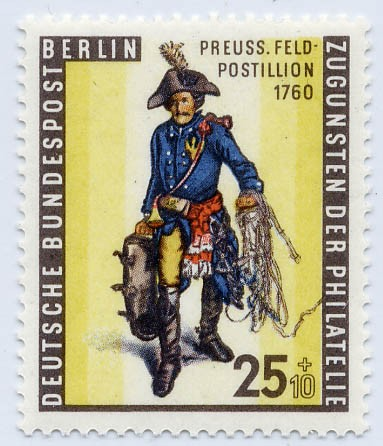 Berlin MiNr. 131x ** Tag der Briefmarke 1955 (senkr. Gummi)