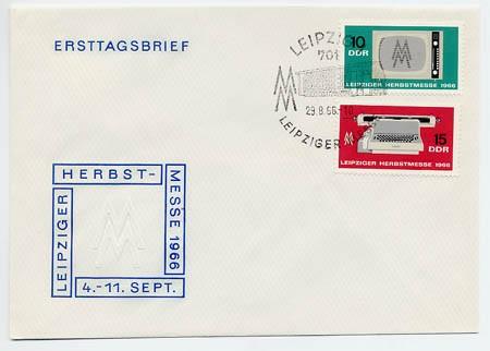 DDR FDC MiNr. 1204/05 LHM 1966