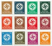 Dt. Reich Dienst MiNr. 132/43 ** Dienstmarken für Landes-Behörden