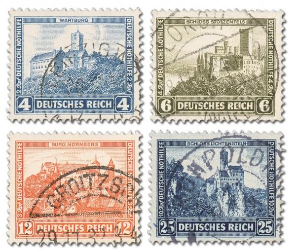 Dt. Reich MiNr. 474/78 o Dt. Nothilfe 1932 - Burgen und Schlösser