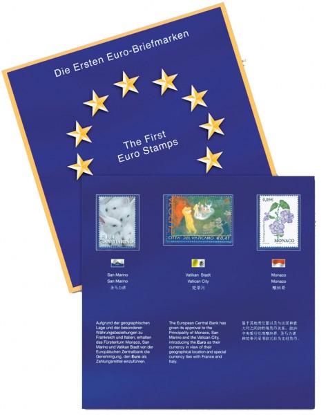 Das erste EURO-Briefmarken-Folder
