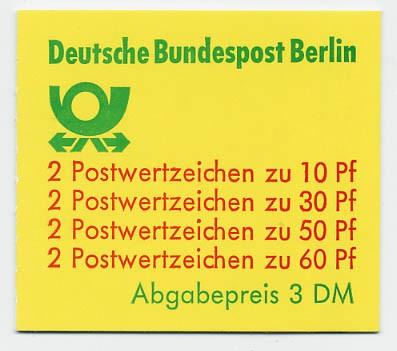 Berlin MH 12cb ** Burgen und Schlösser 1980