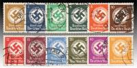 Dt. Reich Dienst MiNr. 132/43 o Dienstmarken für Landes-Behörden