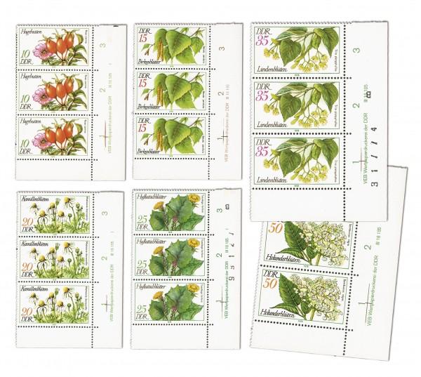 DDR MiNr. 2287/2292 DV ** Arzneipflanzen