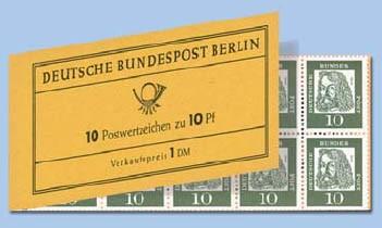 Berlin MH 3d ** Dürer, 1964 Reklame - Georg Bühler