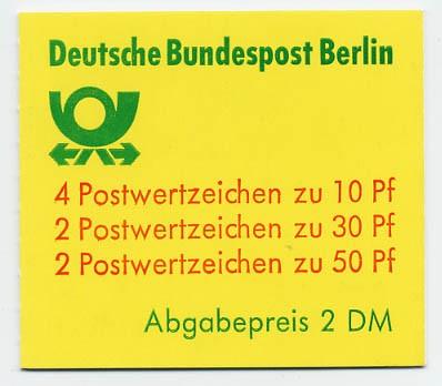 Berlin MH 11a ** Burgen u. Schlösser, 1980