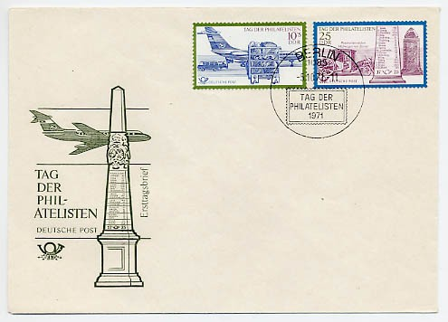 DDR FDC MiNr. 1703/04 Tag d. Philatelisten