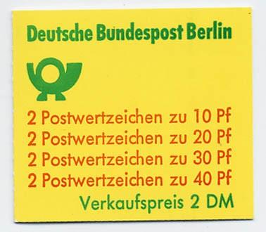 Berlin MH 9cI ** Unfallverhütung 1974