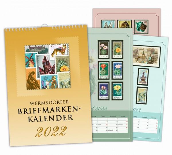 Wermsdorfer Briefmarken-Kalender 2022