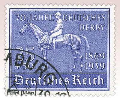 Dt. Reich MiNr. 698 o 70 Jahre Dt. Derby