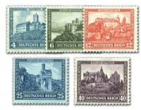 Dt. Reich MiNr. 474/78 ungebraucht Dt. Nothilfe 1932 - Burgen und Schlösser