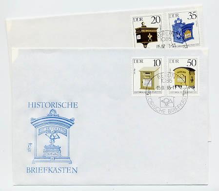 DDR FDC MiNr. 2924/27 Histor. Briefkästen