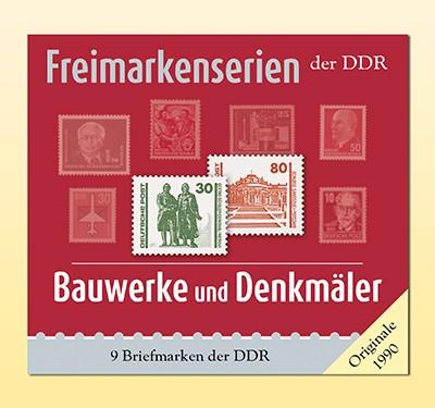 Philatelie-kompakt: Bauwerke & Denkmäler Freimarkenserien der DDR