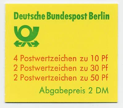 Berlin MH 11cb ** Burgen und Schlösser 1980