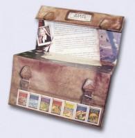 Großbritannien Harry Potter - Präsentations-Paket Faltmappe mit Satz u. Block + Text