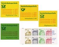 Berlin MH ** Set Burgen u. Schlösser 4 Heftchen: Mi 10, 11, 12, 13