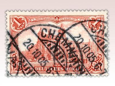"""Dt. Reich MiNr. 78B o FM mit Inschrift """"Deutsches Reich"""""""
