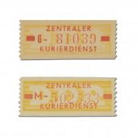DDR Dienstmarken B, MiNr. 18IN+18II ** Type I u. II