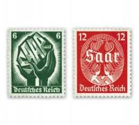 Dt. Reich MiNr. 544/45 ** Saarabstimmung 1934
