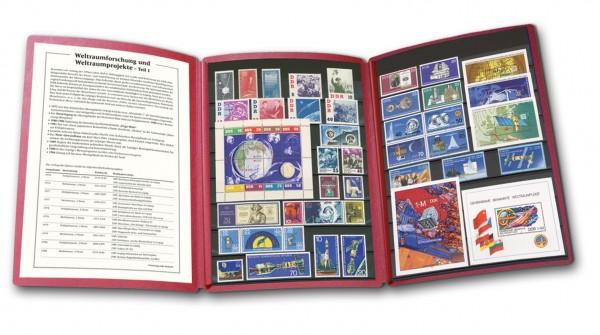 DDR - Philatelie-Edition Weltraumforschung Teil 1