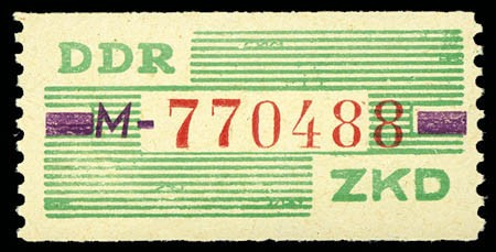 DDR Dienstmarken B MiNr. 24 ** 10 Pf. - 1 Wertbalken, Buchstabe schräg !