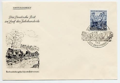 DDR FDC MiNr. 396 Tag d. Briefmarke