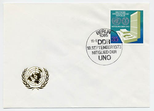 DDR FDC MiNr. 1883 DDR - Mitglied d. UNO