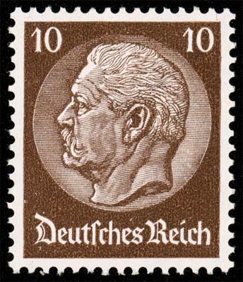 Dt. Reich MiNr. 518Y ** Hindenburg-Medaillon
