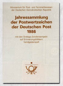 DDR Jahressammlung 1986 o