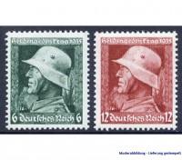 Dt. Reich MiNr. 569/70y o