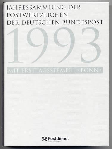 BRD Jahressammlung 1993 o