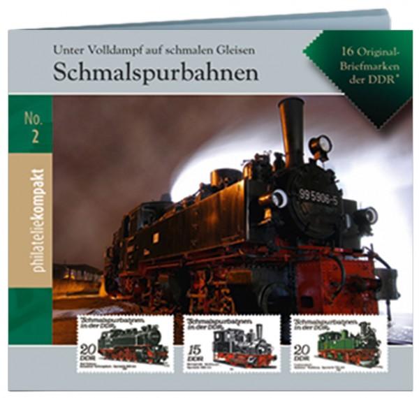Philatelie-kompakt No.2: Schmalspurbahnen