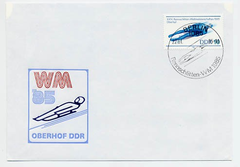 DDR FDC MiNr. 2923 Rodel-WM