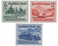 Dt. Reich MiNr. 695/97 * ungebraucht Nürburgring-Rennen 1939