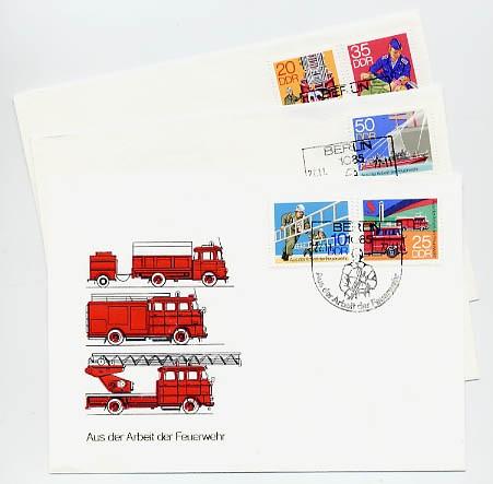 DDR FDC MiNr. 2276/80 Feuerwehr