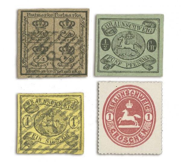 Braunschweig Die Briefmarken des Herzogtums