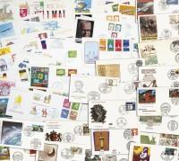 BRD 75 verschiedene Ersttagsbriefe