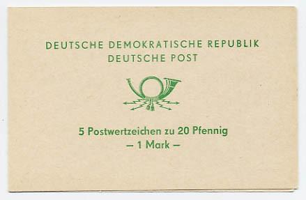 DDR SMHD 2b ** Posthorn grün